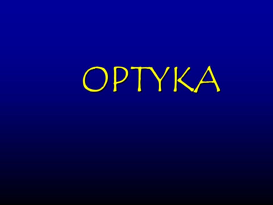Bartosz Jabłonecki Zwierciadło kuliste (wklęsłe i wypukłe) powstaje jako wycinek sfery.