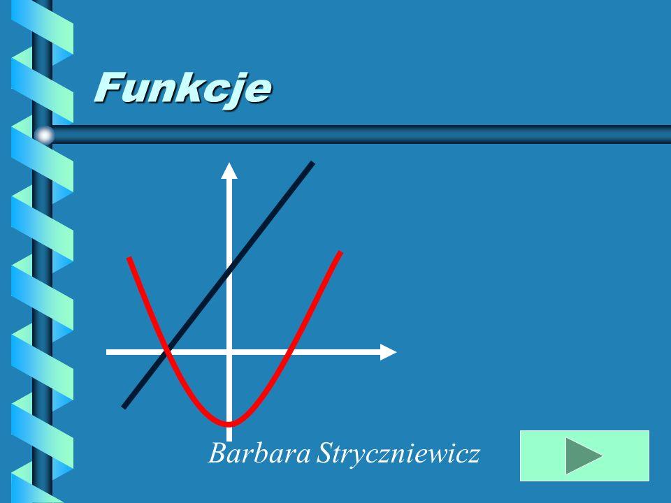 Zad.1 Narysuj wykres i określ własności funkcji y = 2x – 6 1.Tabelka częściowa x 0 2 y -6 -2 2.Kreślimy wykres X Y Własności : 1.Dziedzina D = R 2.Funkcja jest rosnąca, bo a=2 >0 3.Miejsce zerowe 2x – 6 = 0 2x =6 x = 3 (3;0) 4.Funkcja ma wartości dodatnie ujemne dla x > 3 dla x < 3 y<0 y>0