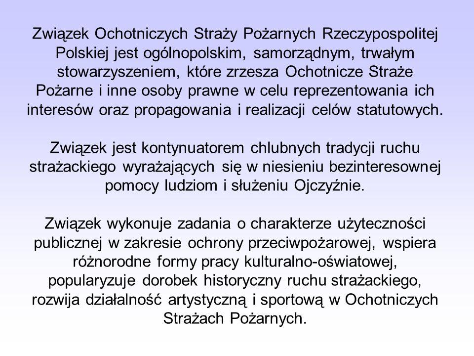 Statut Związek Ochotniczych Straży Pożarnych Rzeczypospolitej Polskiej