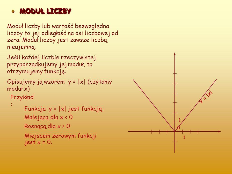 FUNKCJA KWADRATOWA Funkcje postaci : y = x 2, y = x 2 – 1, y = 3x 2 + 4 są przykładami funkcji kwadratowych. Wykresy tych funkcji nazywamy parabolami.