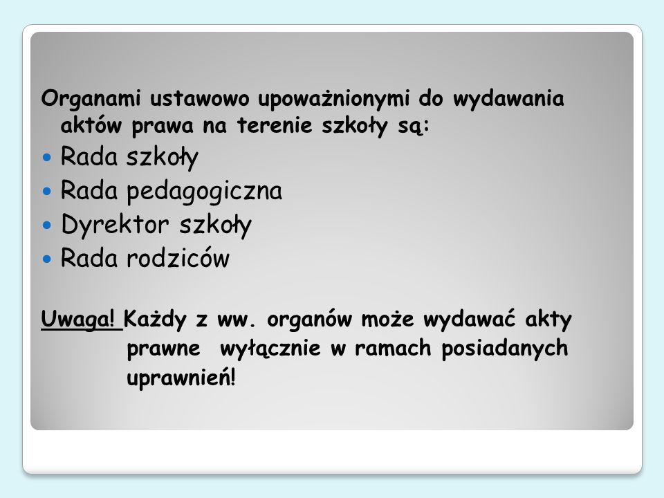 Polskie prawo nie stanowi, jaka formę redakcyjną powinny mieć akty prawne niższe rangą od aktów wykonawczych do ustaw.