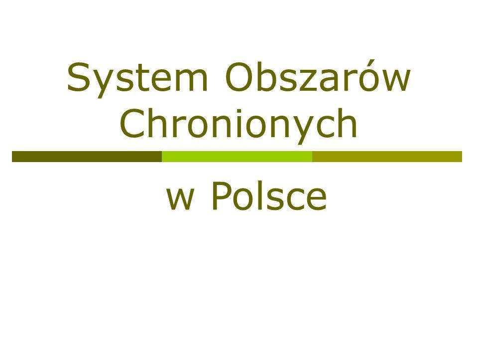 System Obszarów Chronionych w Polsce