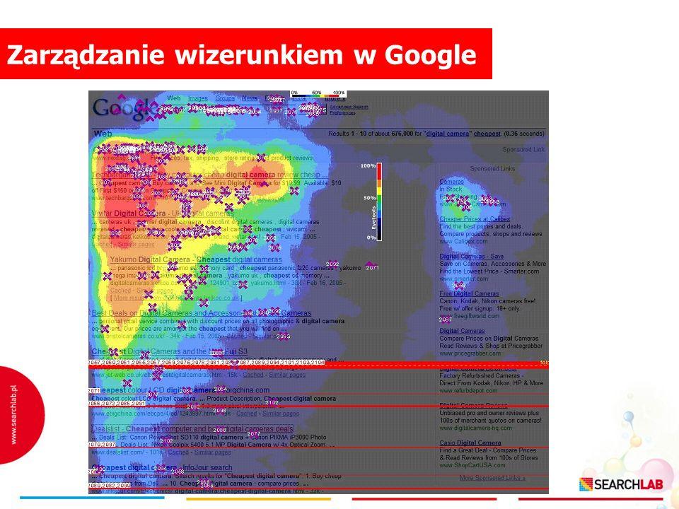 Zarządzanie wizerunkiem w Google