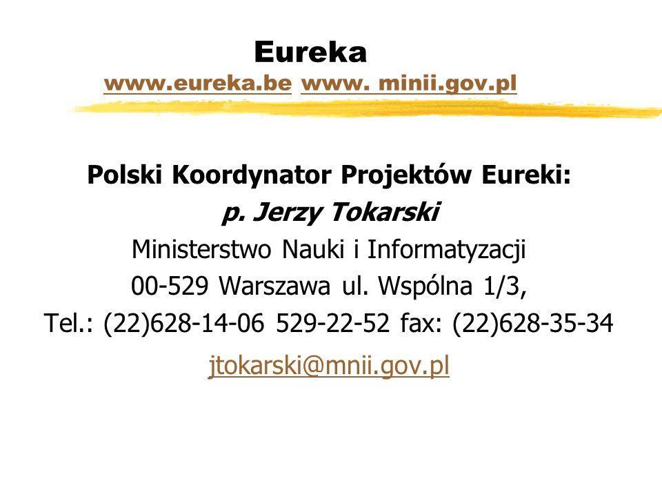 Eureka www.eureka.be www. minii.gov.pl www.eureka.bewww.