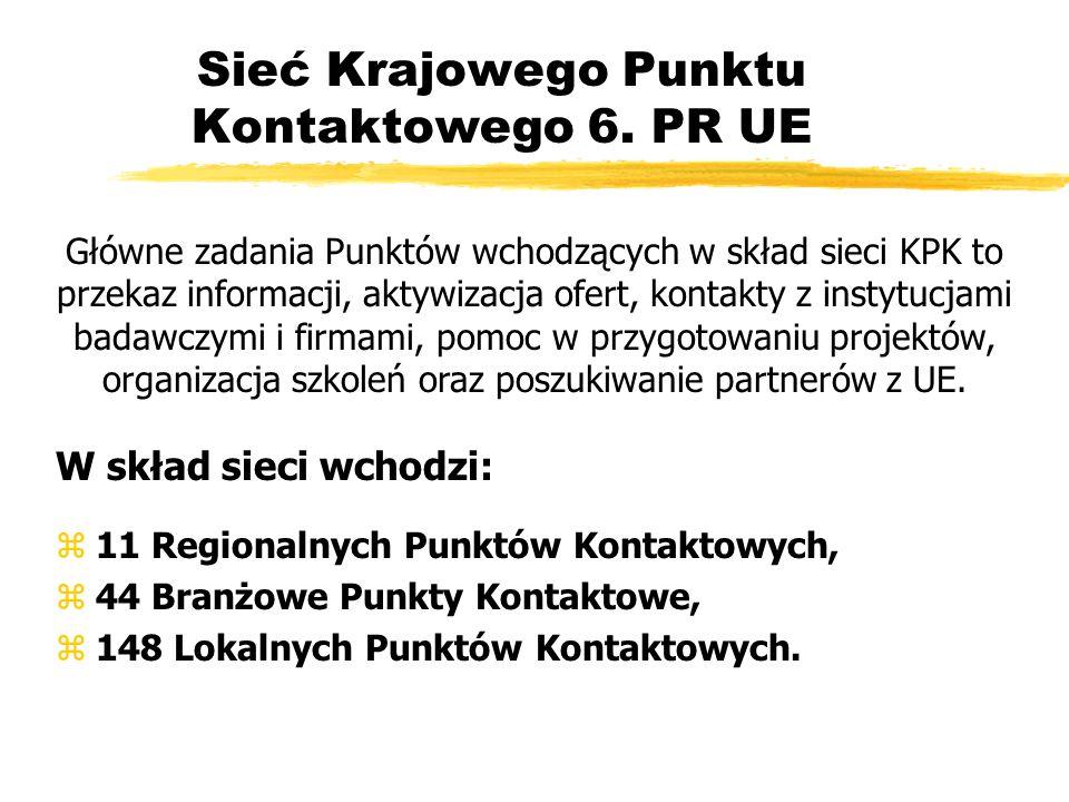 Sieć Krajowego Punktu Kontaktowego 6.