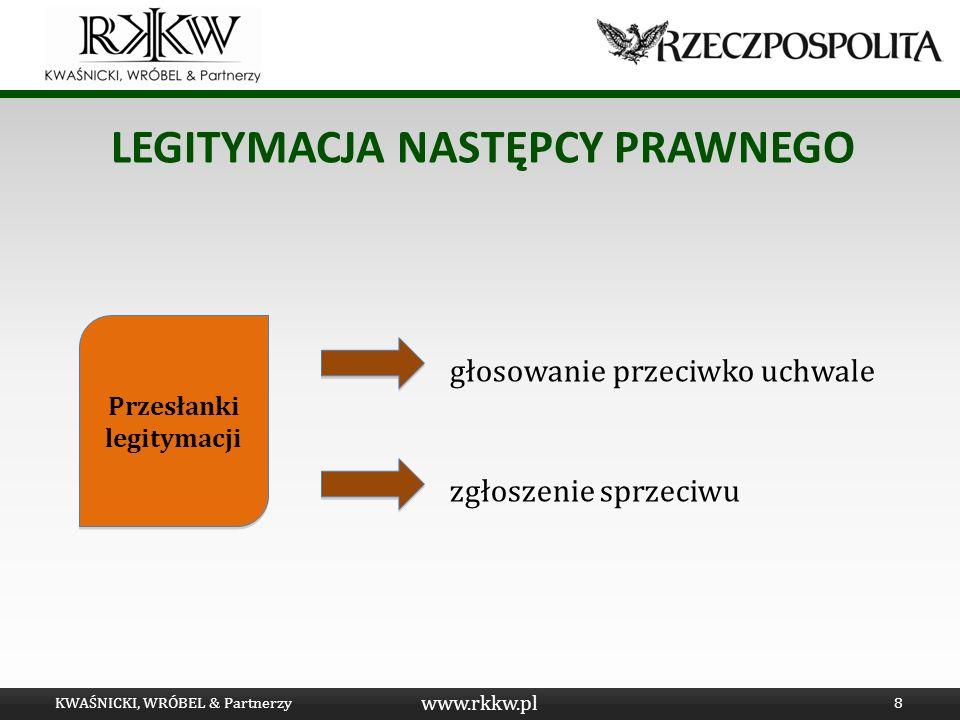 www.rkkw.pl LEGITYMACJA SYNDYKA MASY UPADŁOŚCI Albo: S zostaje ustanowiony syndykiem dla upadłego - Utrata Sp.