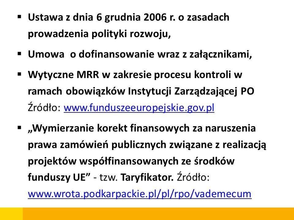 Zalecenia dla beneficjentów funduszy UE dotyczące interpretacji przepisów ustawy Prawo zamówień publicznych – MRR – 29 luty 2008r.