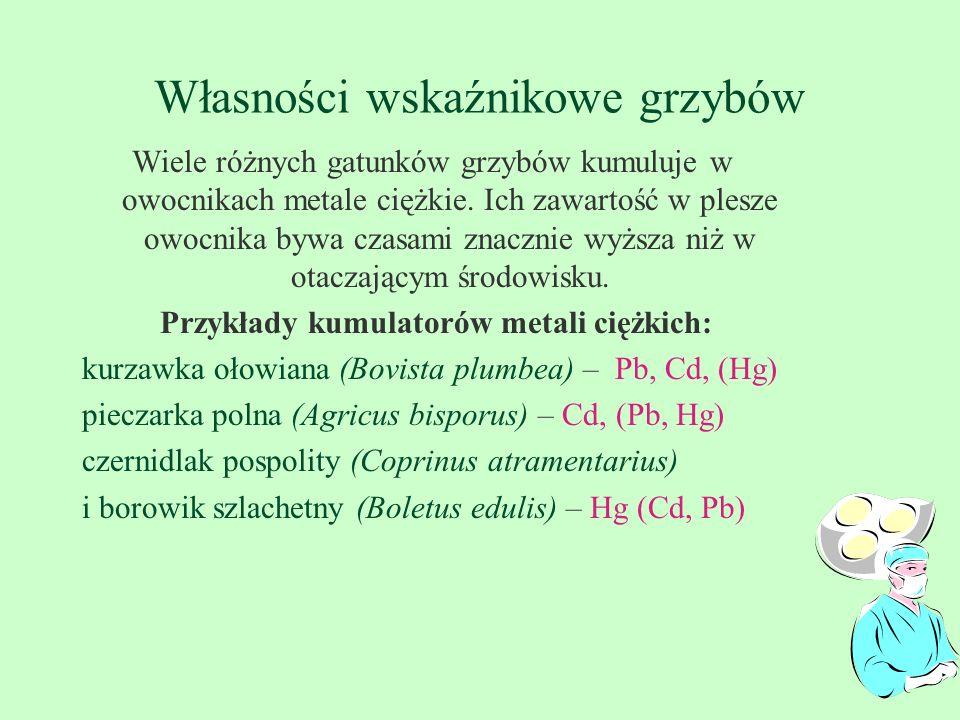 NAGONASIENNE - jodła, świerk, sosna zwyczajna (kw.opady), sosna żółta, daglezja (F, HF, PAN- peroxyacetyl azotu), modrzew europejski (-Ca) - jako wskaźniki zanieczyszczenia powietrza i gleby, Obserwując wygląd i zachowanie drzew ustala się strefy i drogi skażeń emisjami przemysłowymi Reagują coraz młodsze rośliny: .