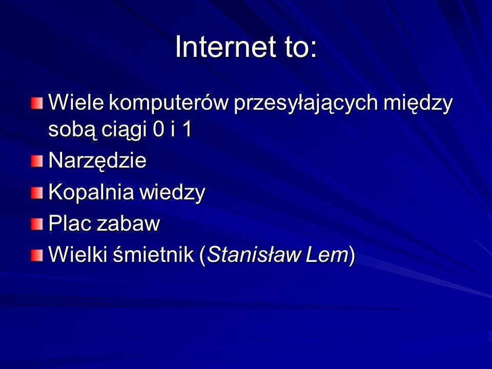 Warto zajrzeć www.kidprotect.pl/nauczyciele/certyfikatwww.sieciaki.plwww.dzieckowsieci.plwww.interklasa.plwww.niebieskalinia.plwww.dyzurnet.plwww.kopd.plwww.brpd.gov.plwww.policja.plwww.nowaera.plwww.swierszczyk.plwww.pspolska.pl