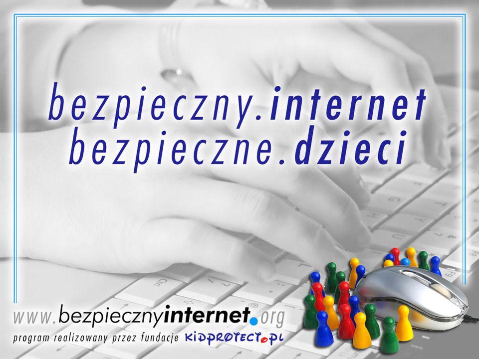 Czym jest internet Ogromną liczbą komputerów wymieniających się ciągami 0 i 1 Narzędziem Kopalnią wiedzy Placem zabaw Sposobem komunikowania się Wielkim śmietnikiem (Stanisław Lem)