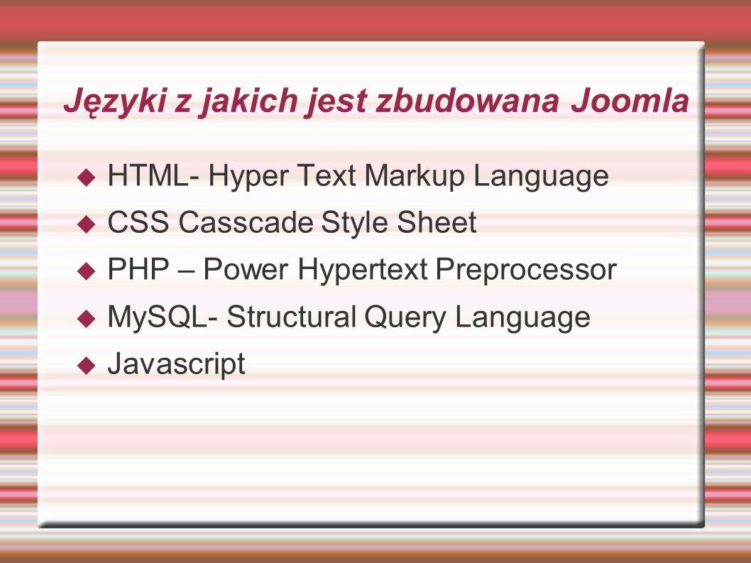 Co potrzebne jest do używania Joomla lokalnie na komputerze XAMPP- program działający w środowisku MAC Windows Linux zawierający pakiety PHP Mysql PHPMyAdmin i Apache Dowolna przeglądarka internetowa