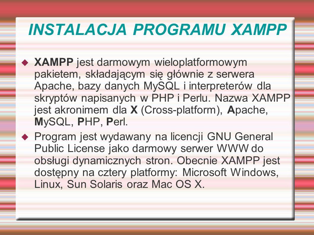 Joomla w internecie Potrzebny hosting z php i mysql (czyli udostępnianie części zasobów komputera, który jest stale 24h na dobę podłączony do internetu i możliwy do zarządzania przez użytkownika np.