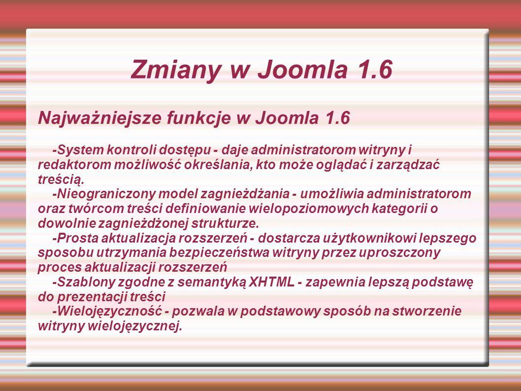 Artykuł edycja Podstawową treścią strony internetowej na bazie joomla są zazwyczaj artykuły Artykuły można edytować poprzez edytor tekstu JCE JCK TinyMCE CodeMirror lub też bez edytora bezpośrednio w kodzie witryny.