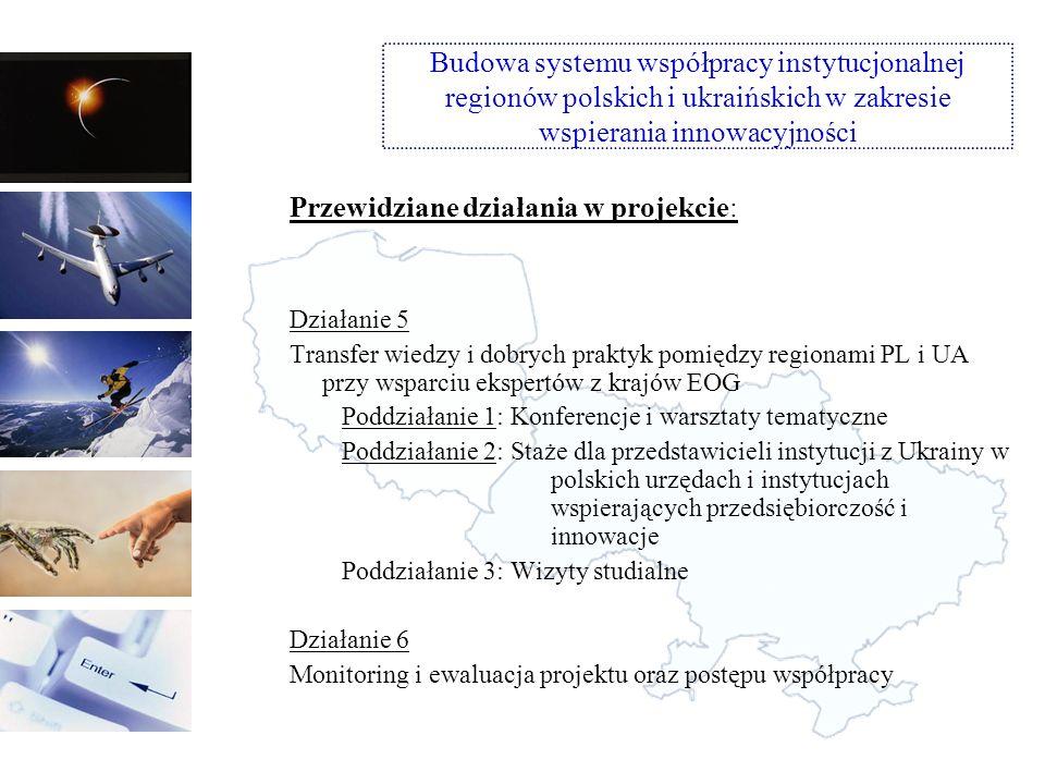 Aspekty techniczne i organizacyjne inicjatywy: 1.Partnerstwo: stworzenie konsorcjum wykonawców: partner z każdego województwa (operator regionalny) + partnerzy z Ukrainy + partner z EOG (Norwegia) 2.