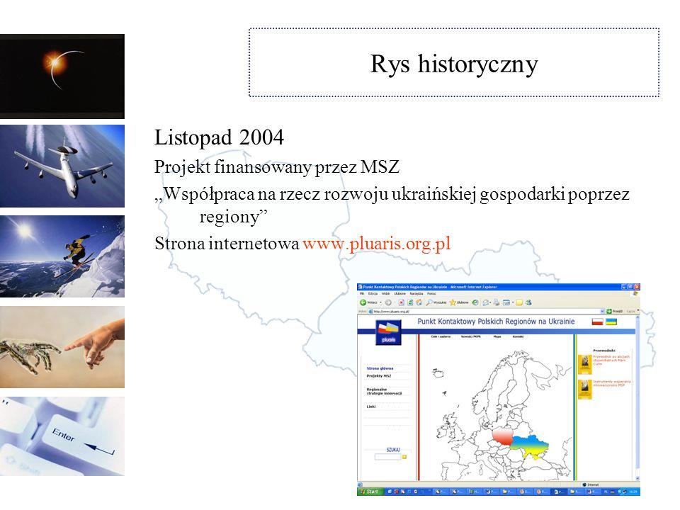 Rys historyczny Maj 2005 – Forum Nauka – Innowacje – Rozwój regionalny