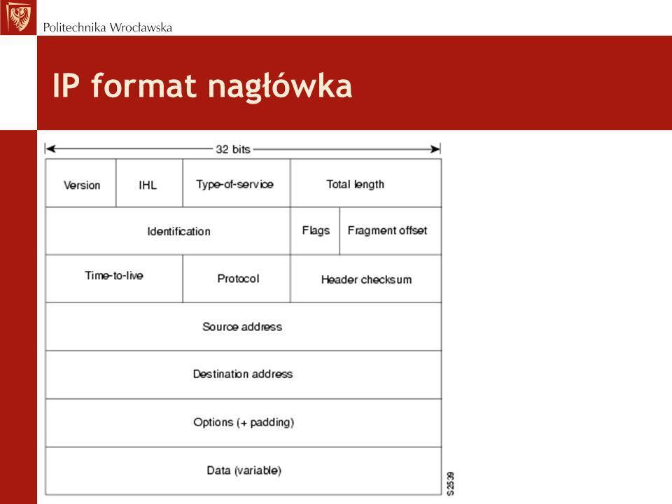 IP format nagłówka