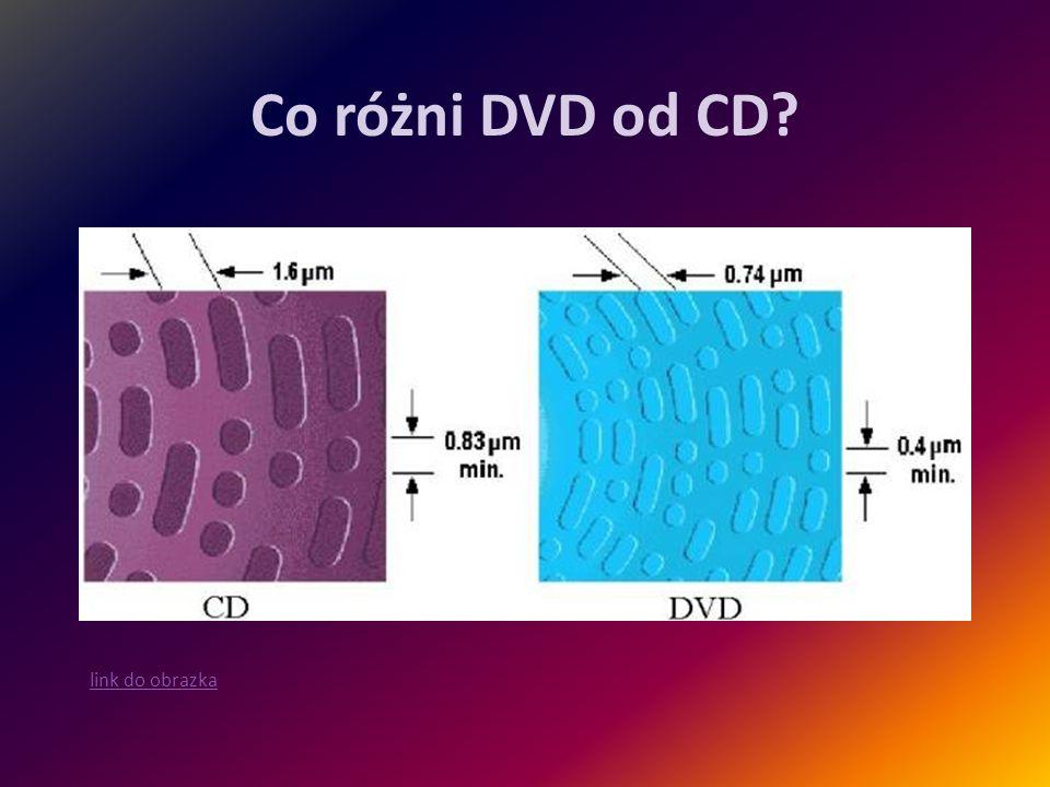Co różni DVD od CD? link do obrazka