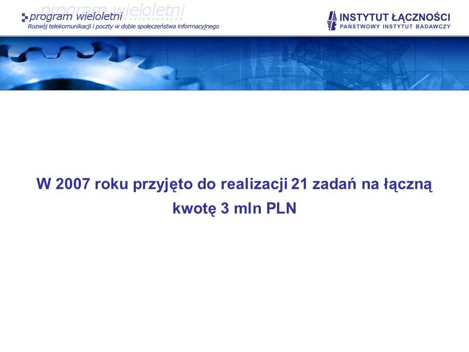 SP I.7 Ponadto planowane jest przygotowanie 3 raportów na temat: pozycji Polski w UE 27 w zaawansowaniu rozwoju społeczeństwa informacyjnego; roli technologii społeczeństwa informacyjnego (IST) w rozwoju gospodarczym UE; kierunków rozwoju potencjału naukowego UE w świetle 7.