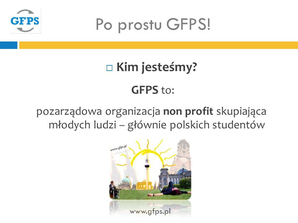 Po prostu GFPS.Kim jesteśmy.