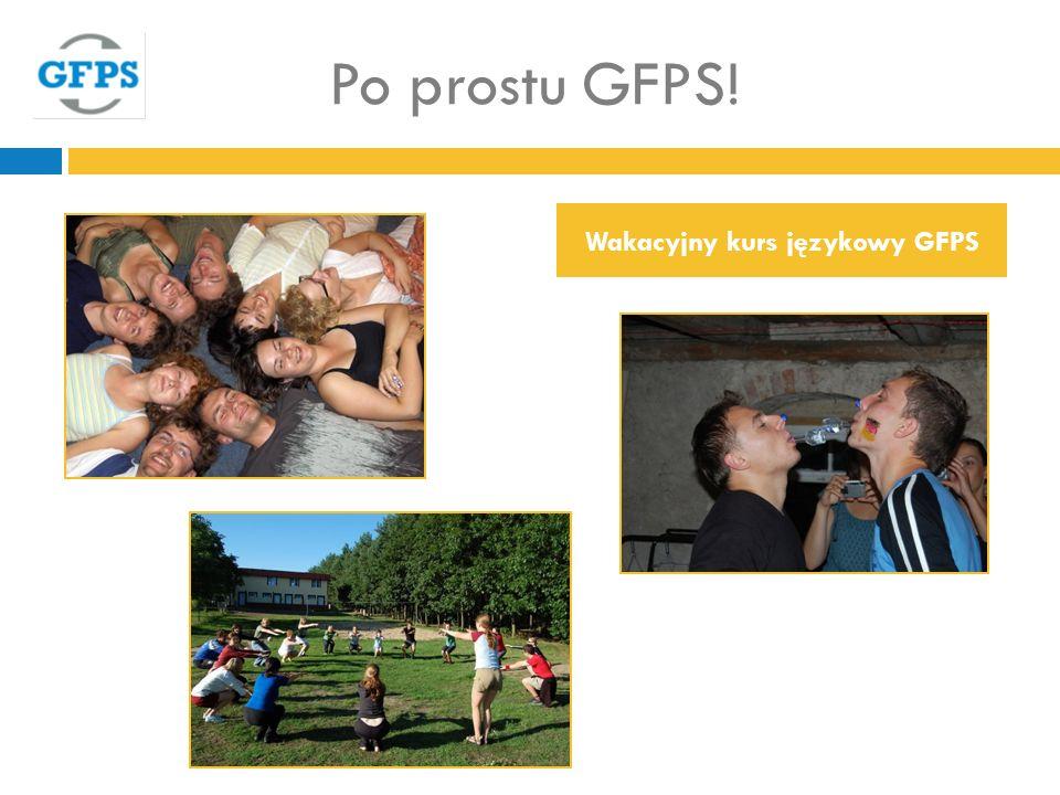 Po prostu GFPS! Wakacyjny kurs językowy GFPS