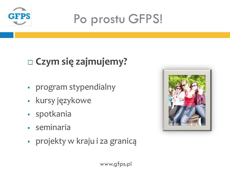 Po prostu GFPS.Czym się zajmujemy.