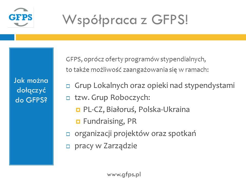 Jak można dołączyć do GFPS.