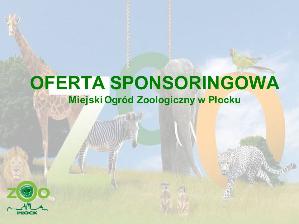 HISTORIA PŁOCKEGO ZOO Ogród Zoologiczny w Płocku powstał 1 maja 1951 roku.