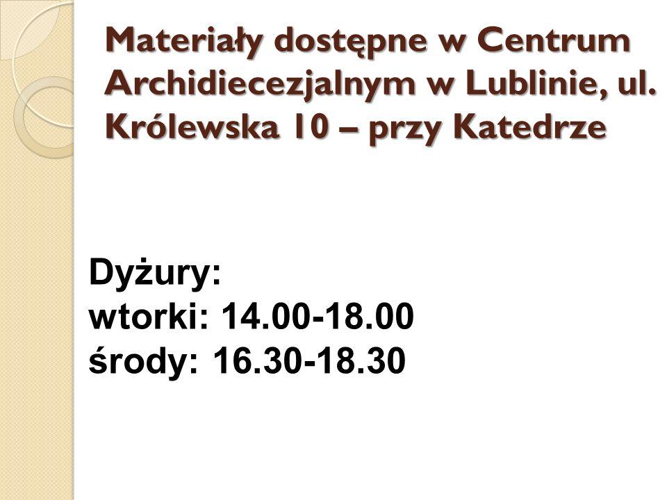 Rekolekcje wakacyjne Ruchu Światło-Życie Archidiecezji Lubelskiej 2011r.