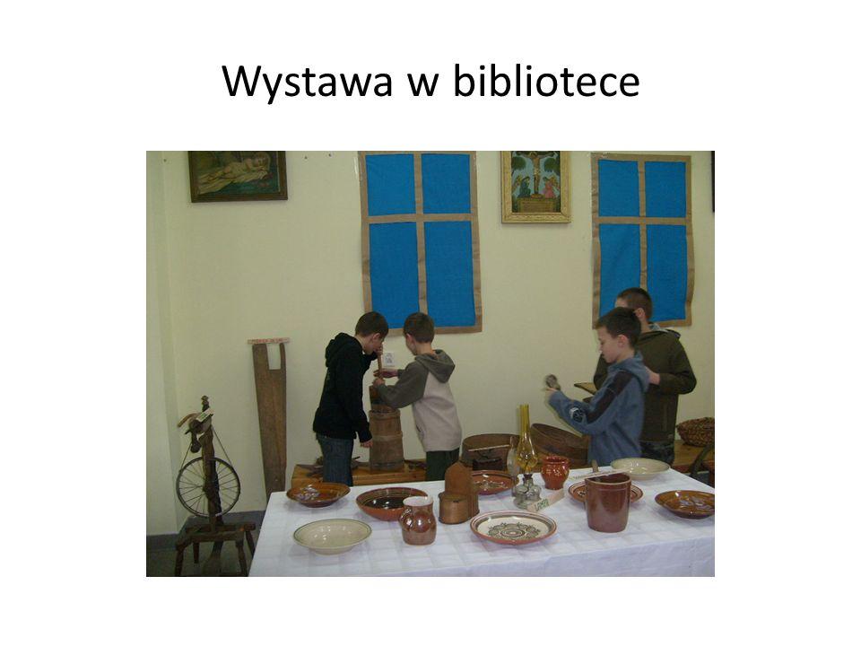 Wystawa w bibliotece
