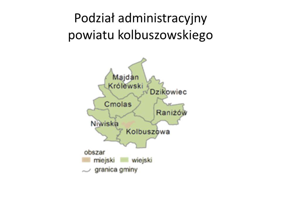 Podział administracyjny powiatu kolbuszowskiego