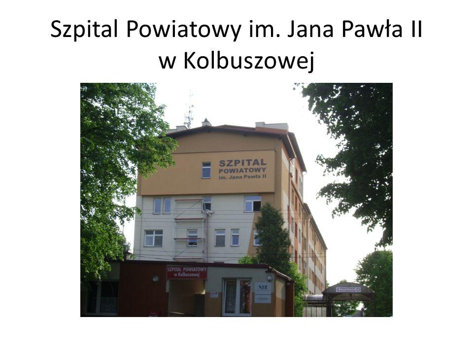 Szpital Powiatowy im. Jana Pawła II w Kolbuszowej