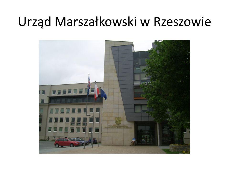 Urząd Marszałkowski w Rzeszowie