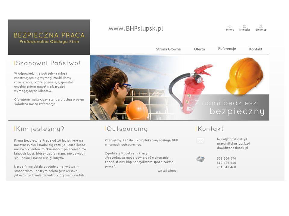 Chcesz przeprowadzić audyt bezpieczeństwa ? www.BHPslupsk.pl tel. 502 36 46 76 Grażyna Jasińska biuro@BHPslupsk.pl