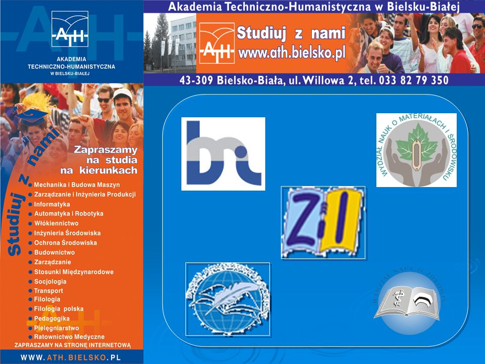 STUDIA W ATH STUDIA I-go STOPNIA (inżynierskie lub licencjackie) STUDIA II-go STOPNIA (uzpełniające magisterskie) STACJONARNE NIESTACJONARNE DZIENNE (bezpłatne) ZAOCZNE, WIECZOROWE (płatne) STUDIA III-go STOPNIA (doktoranckie)