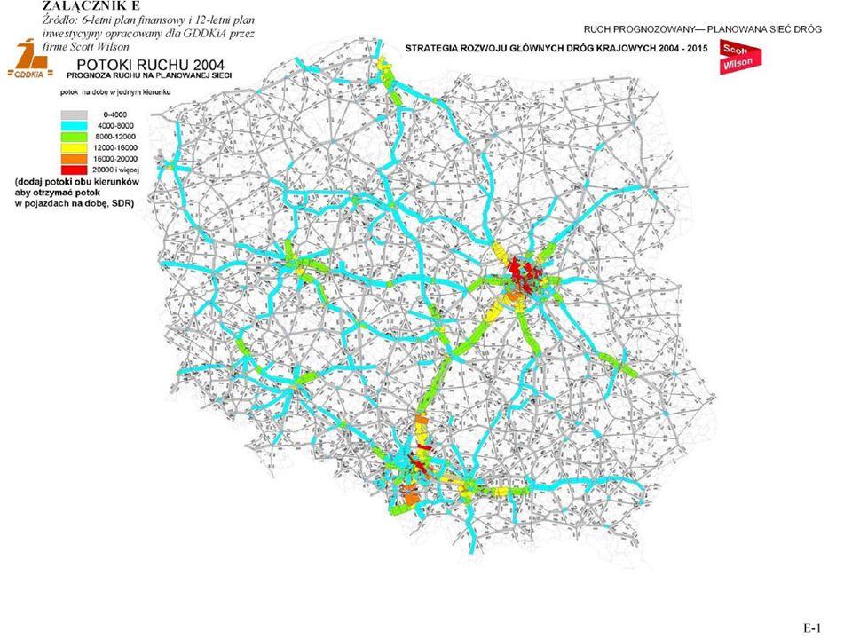 Przeciwdziałania Wzrost ruchu samochodowego wewnątrz Warszawy Wprowadzenie wydzielonych pasów dla autobusów na niektórych ulicach, kosztem utrudnień w ruchu samochodów osobowych Wprowadzenie wydzielonych pasów dla autobusów na niektórych ulicach, kosztem utrudnień w ruchu samochodów osobowych Wprowadzenie wspólnych tras tramwajowo – autobusowych (TTA) Wprowadzenie wspólnych tras tramwajowo – autobusowych (TTA) Ułatwienia dla autobusów i tramwajów na skrzyżowaniach z sygnalizacją świetlną Ułatwienia dla autobusów i tramwajów na skrzyżowaniach z sygnalizacją świetlną Budowa nowych linii metra Budowa nowych linii metra Wydzielenie w centrum miasta stref dla ruchu pieszego lub obsługiwanych tylko przez komunikację masową Wydzielenie w centrum miasta stref dla ruchu pieszego lub obsługiwanych tylko przez komunikację masową Wprowadzenie opłat za wjazd do centrum miasta (obszaru wewnątrz Obwodnicy Śródmieścia) Wprowadzenie opłat za wjazd do centrum miasta (obszaru wewnątrz Obwodnicy Śródmieścia) Wzrost opłat za parkowanie w centrum miasta i innych miejscach, gdzie można się spodziewać wzmożonego ruchu (np.