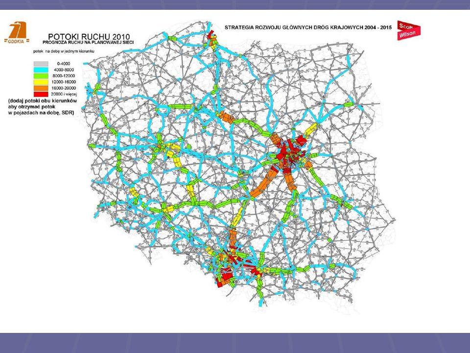 Nowy układ drogowy w Warszawie Szansa dla stolicy Wiele spośród powyższych udogodnień wobec komunikacji masowej można zastosować jedynie po zbudowaniu systemu obwodnic miejskich Wiele spośród powyższych udogodnień wobec komunikacji masowej można zastosować jedynie po zbudowaniu systemu obwodnic miejskich Warszawa potrzebuje działań systemowych, a nie doraźnych Warszawa potrzebuje działań systemowych, a nie doraźnych Tylko równoczesny rozwój dróg kołowych i komunikacji masowej może spowodować odkorkowanie miasta Tylko równoczesny rozwój dróg kołowych i komunikacji masowej może spowodować odkorkowanie miasta Odkorkowanie ulic, to poprawa warunków środowiskowych oraz mniejsze koszty ponoszone przez miasto i jego mieszkańców, mniej czasu straconego podczas codziennych dojazdów Odkorkowanie ulic, to poprawa warunków środowiskowych oraz mniejsze koszty ponoszone przez miasto i jego mieszkańców, mniej czasu straconego podczas codziennych dojazdów Budowa systemu obwodnic i tras w Warszawie spowoduje gwałtowne zainteresowanie naszą stolicą zagranicznego biznesu i turystów Budowa systemu obwodnic i tras w Warszawie spowoduje gwałtowne zainteresowanie naszą stolicą zagranicznego biznesu i turystów Warszawa ma szanse stać się prawdziwie europejską stolicą przyjazną dla mieszkańców i przyjezdnych Warszawa ma szanse stać się prawdziwie europejską stolicą przyjazną dla mieszkańców i przyjezdnych