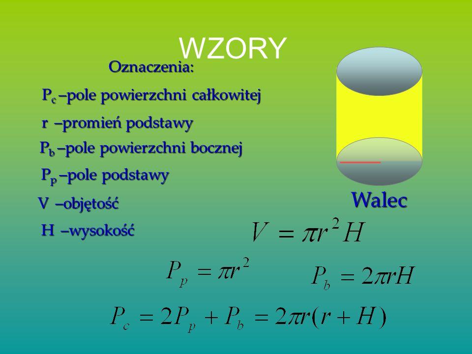 SześcianProstopadłościan P c = 2 a·b+ 2 a·c+ 2 b·c V = a·b·c b a c a a a P p = a·b P p = a 2 P p = 6a 2 V = a 3 Spis treści KoniecGraniastosłupy