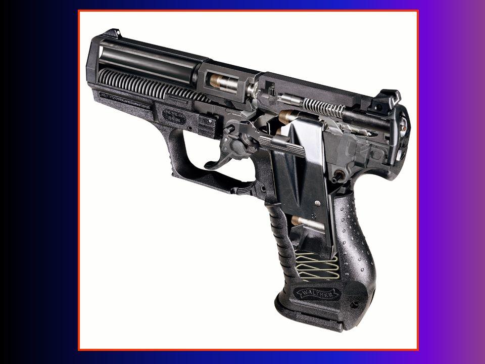 Sposób rozłożenia pistoletu 1) wyciągnąć magazynek, 2) sprawdzić komorę nabojową, 3) zwolnić napiętą iglicę, 4) cofnąć zamek ok.