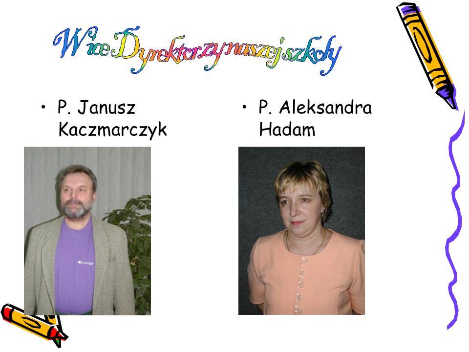 P. Janusz Kaczmarczyk P. Aleksandra Hadam