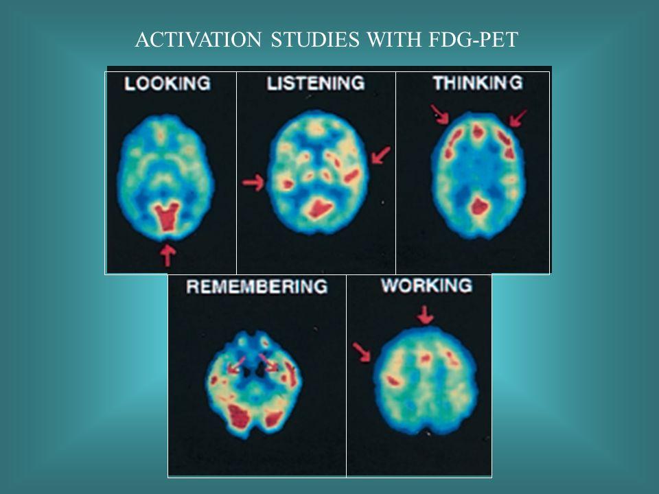 ACTIVATION STUDIES WITH FDG-PET