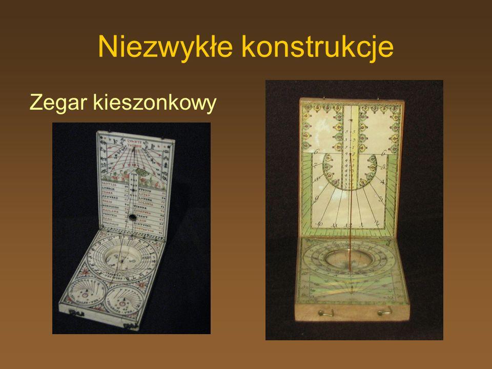 Niezwykłe konstrukcje Zegar kieszonkowy