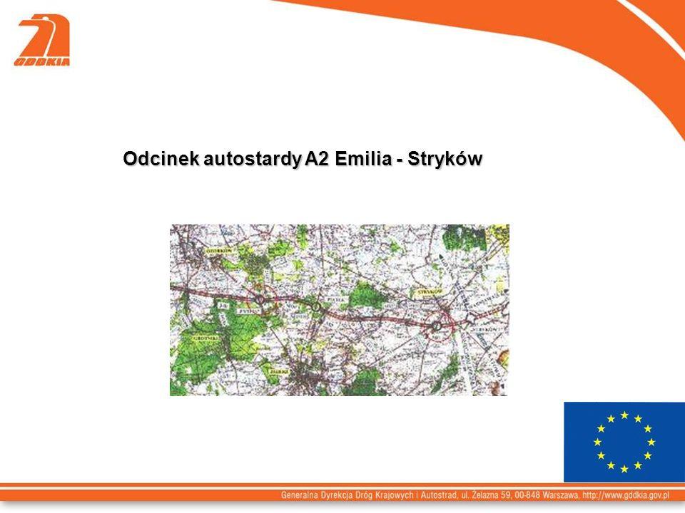 Odcinek autostardy A2 Emilia - Stryków