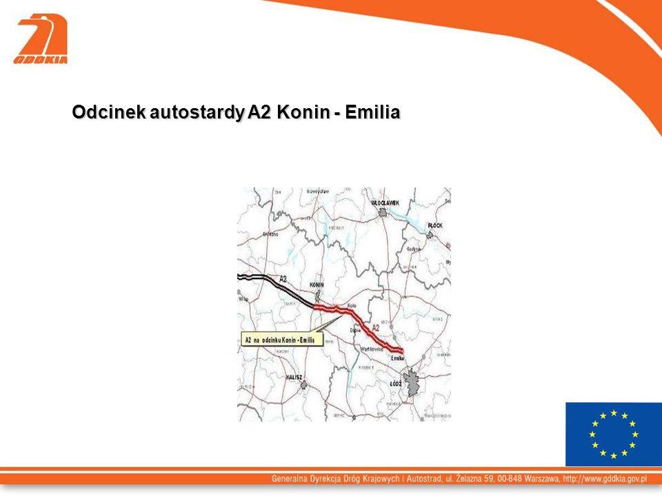 Odcinek autostardy A2 Konin - Emilia