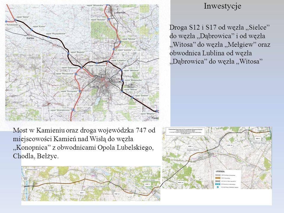 Inwestycje Droga S12 i S17 od węzła Sielce do węzła Dąbrowica i od węzła Witosa do węzła Mełgiew oraz obwodnica Lublina od węzła Dąbrowica do węzła Wi