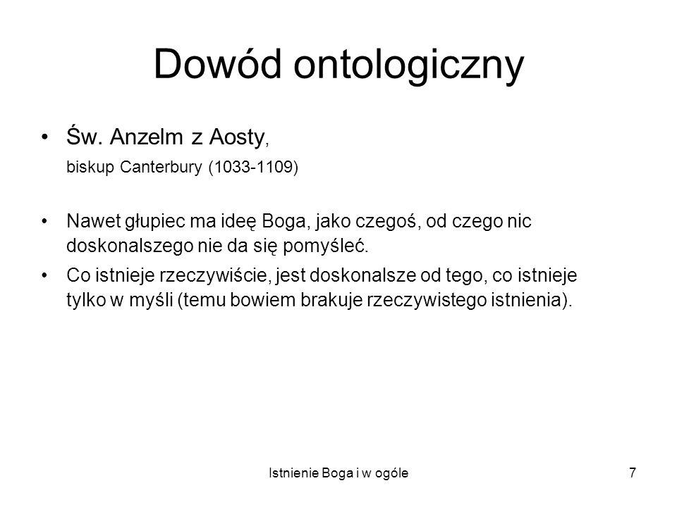 Istnienie Boga i w ogóle38 Wyrażenia ontologicznie zobowiązujące (ontological commitments) Babka Eleonora Pawlak w filmie Sylwestra Chęcińskiego Sami swoi, 1967.