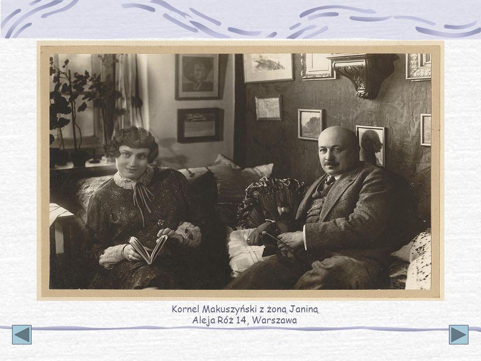 Od roku 1934 drugim domem Makuszyńskiego i jego żony Janiny Gluzińskiej stało się Zakopane.