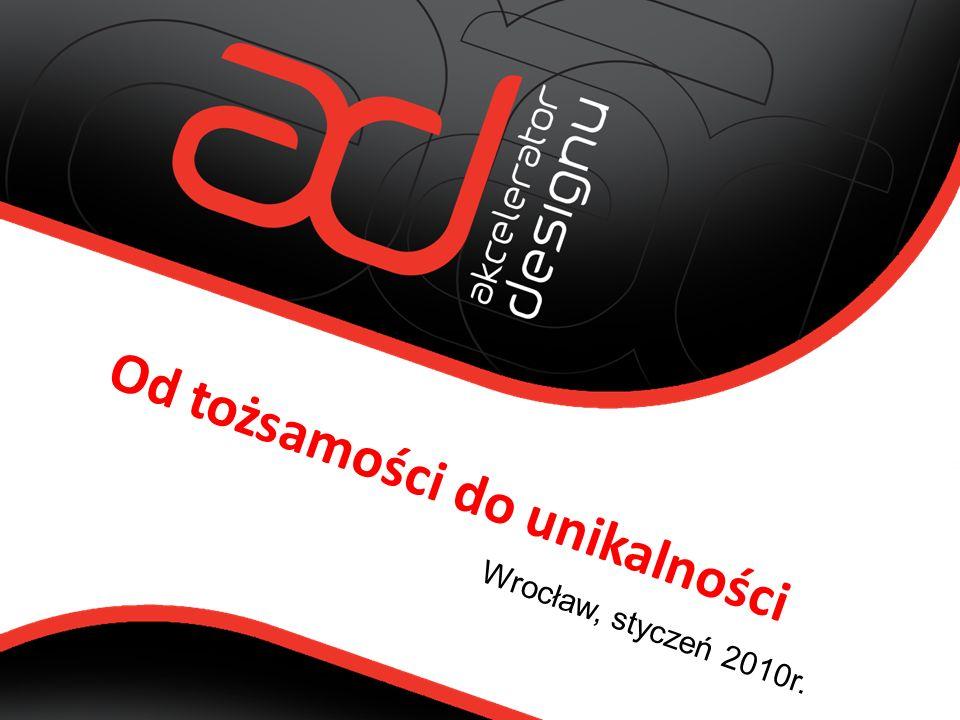Wrocław, styczeń 2010r. Od tożsamości do unikalności