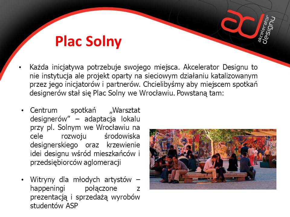 Plac Solny Każda inicjatywa potrzebuje swojego miejsca.