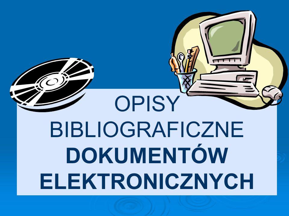 Przykład: Jerofiejew W.: Pamięć jest niebez- pieczna. Rozm. przepr. Aleksander Kaczorowski. Polityka 2005 nr 20 s. 72.