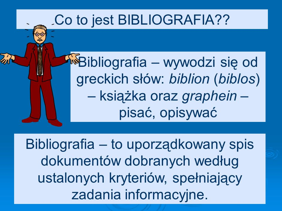 OPIS BIBLIOGRAFICZNY fragmentu (rozdziału) książki – elementy opisu: Opis całości książki (jak poprzednio, ale bez ISBN).